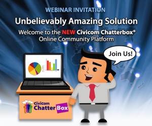 The New Civicom Chatterbox® Online Community Bulletin Board – Unbelievably Amazing