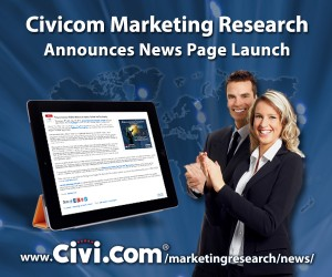 Civicom Marketing Research Announces News Page Launch