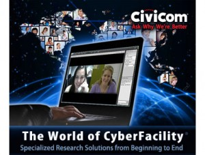Civicom® Webinar Digests – See How CyberFacility® Enables Global Marketing Research Online