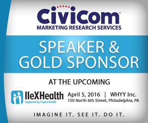 Civicom, A Gold Sponsor and Speaker at IIeX Health 2016